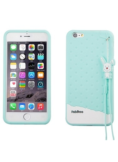 Fabitoo iPhone 6 Plus Candy Kılıf  Turkuaz